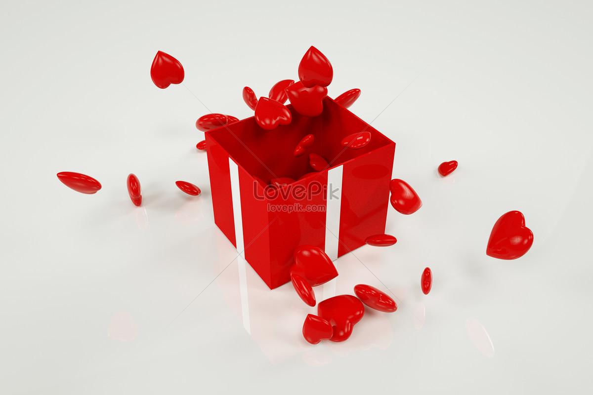 วาเลนไทน์: กล่องของขวัญรักวันวาเลนไทน์หมายเลขดาวน์โหลดภาพ400099231