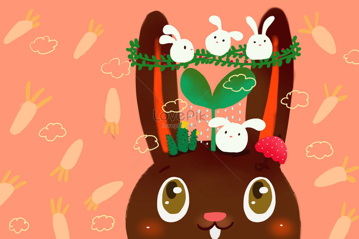 Simple Cartoon Wallpaper Illustration Imagepicture Free Download