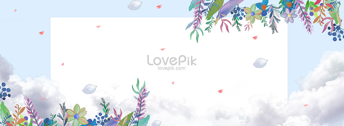 small fresh and beautiful makeup background