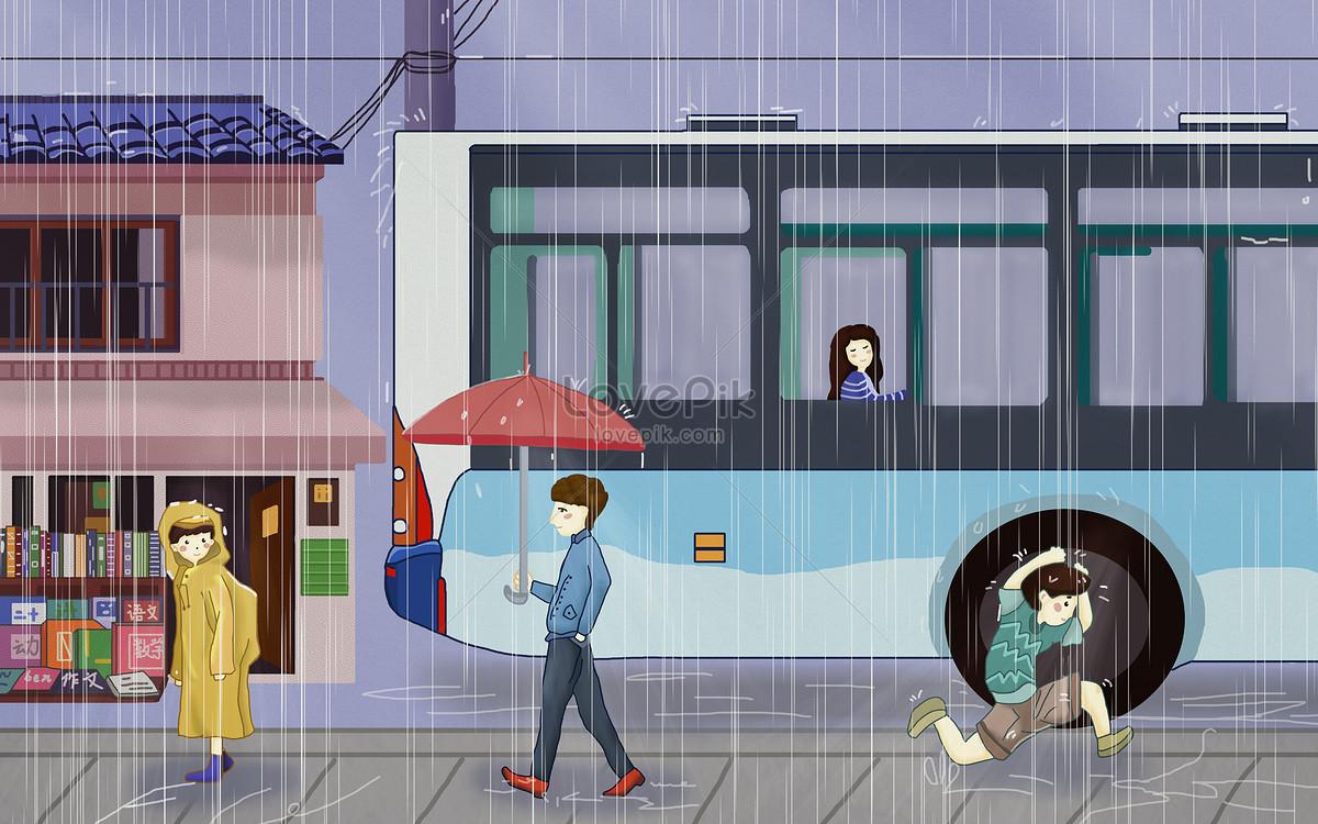 Musim Hujan Gambar Unduh Gratisimej 400119089format Psdmylovepikcom