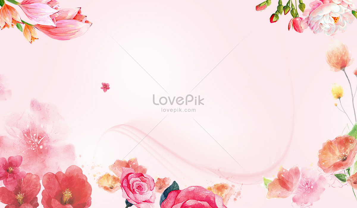 Beautiful Flower Background Backgrounds Imagepicture Free Download