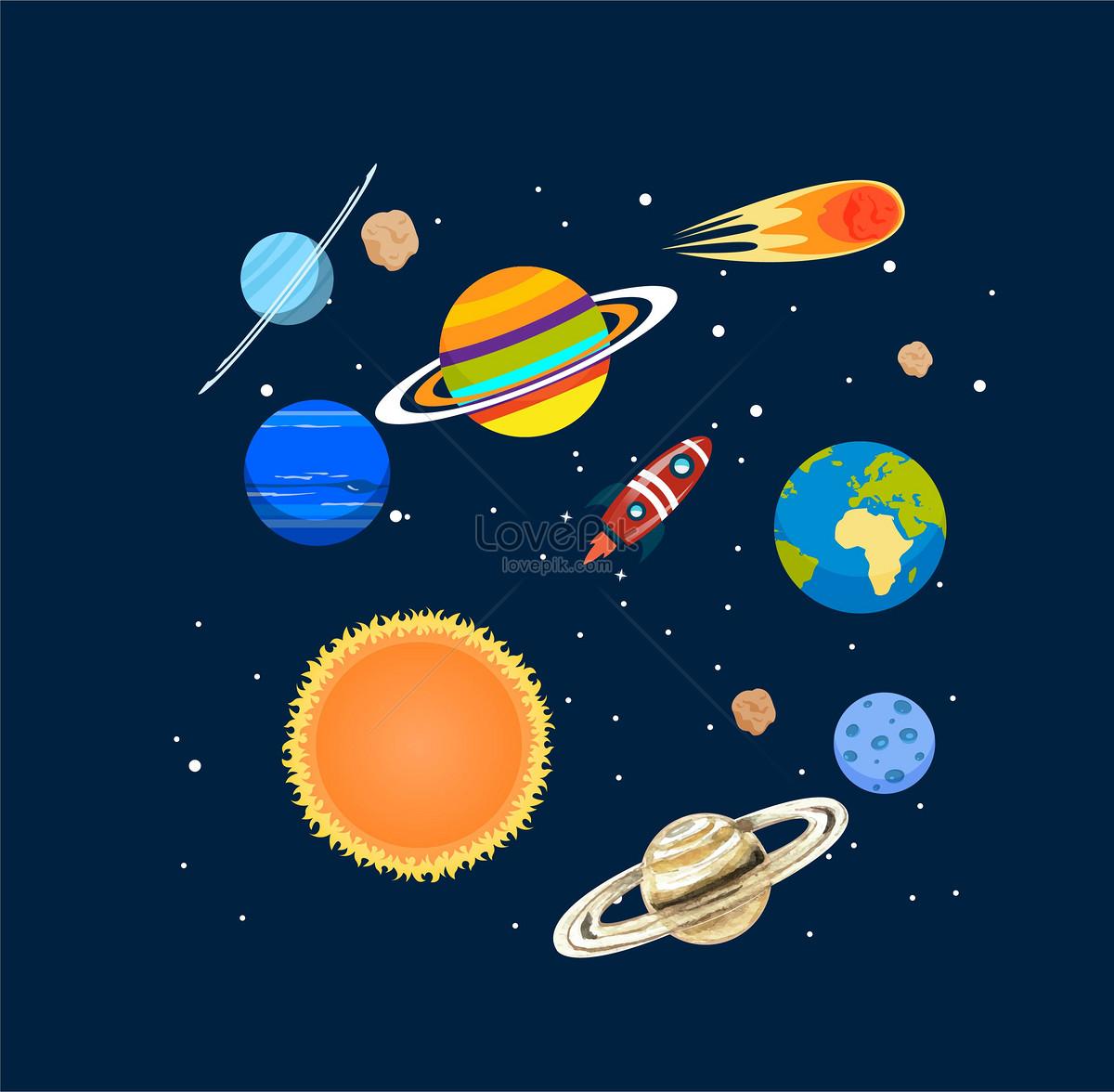 Uzay Arka Plan Malzemesi Resimörnekleme Numarası 400160057tr