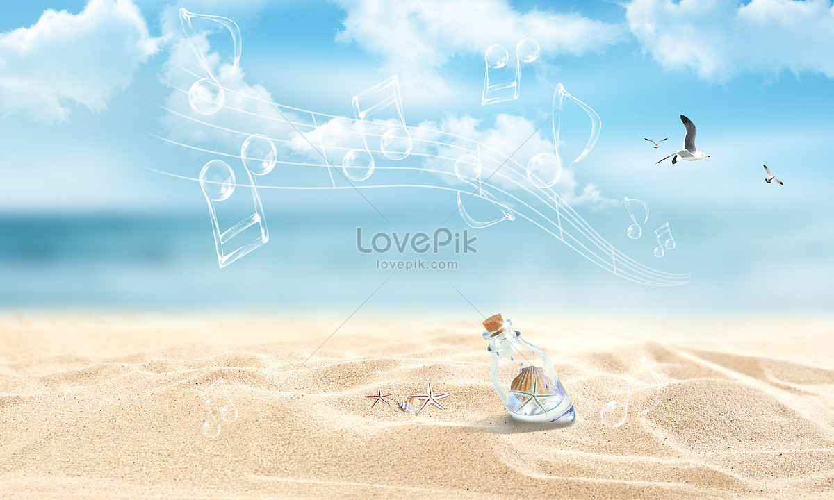 summer beach background backgrounds image_picture free download