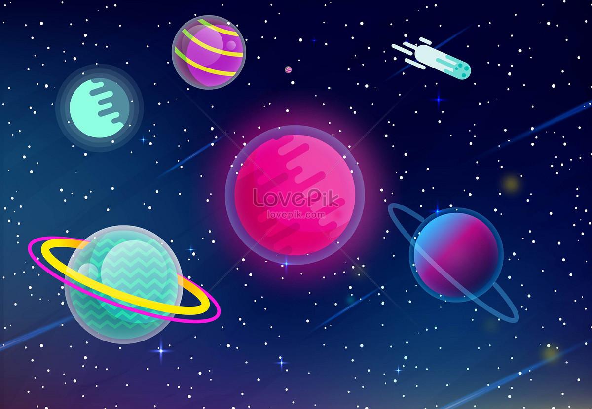 Uzay Arka Plan Malzemesi Resimörnekleme Numarası 400165611tr
