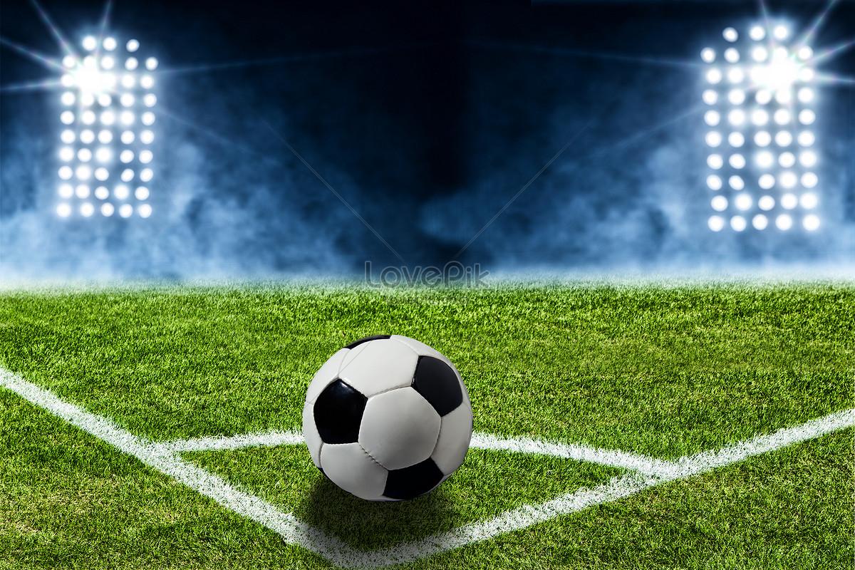 bóng đá phạt góc của một cặp sừng