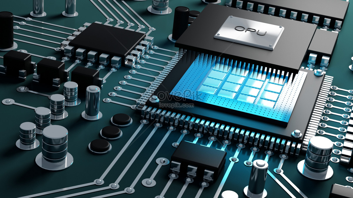 Integrated Circuit Background Creative Image Picture Free Download An