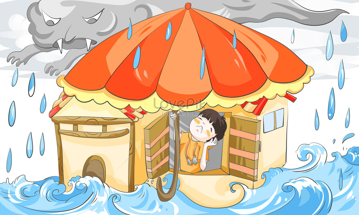 Hujan Lebat Gambar Unduh Gratisimej 400279122format Psdmylovepikcom