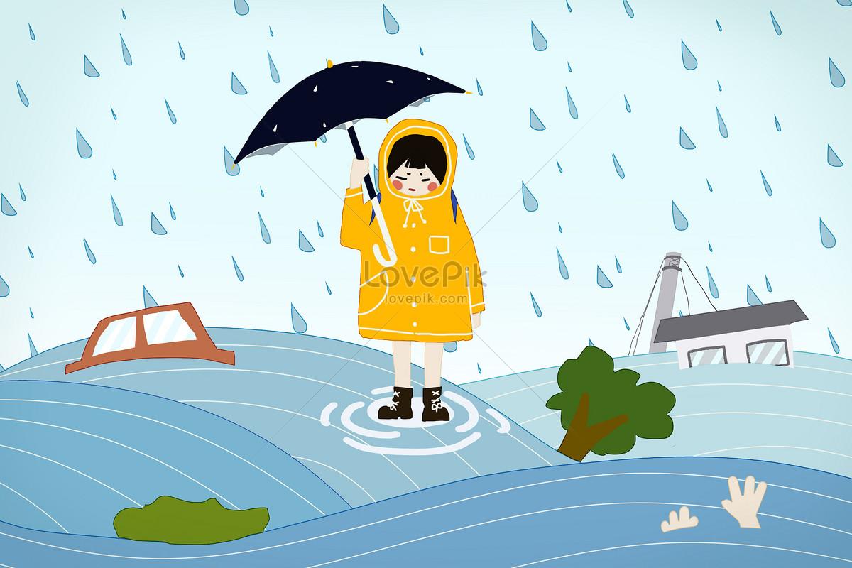 Banjir Badai Gambar Unduh Gratisimej 400284452format Psdmy