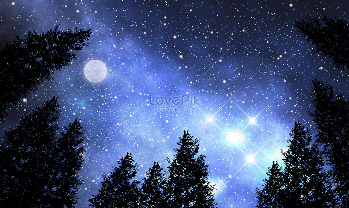 Aesthetic Background Of Star And Moon Illustration Image Picture Free Download 400305996 Lovepik Com