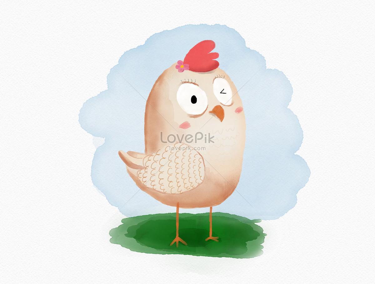 Ayam Comel Gambar Unduh Gratisimej 400446924format Psdmylovepikcom