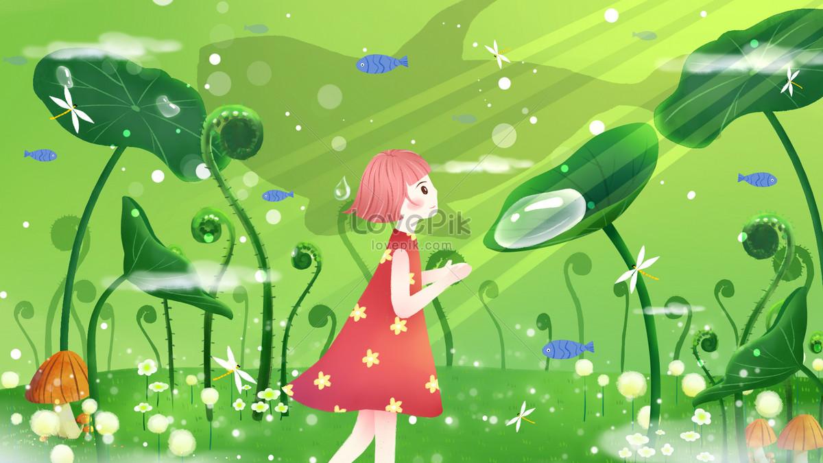 Bailu solar calendar illustration image_picture free download