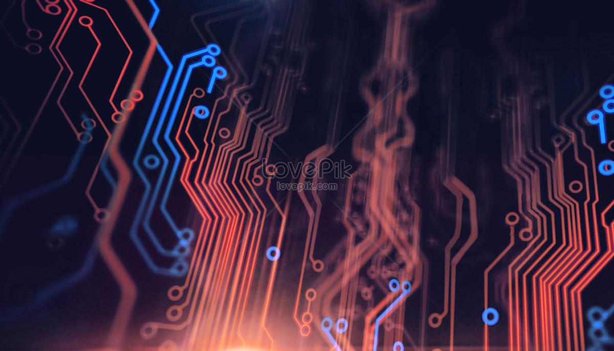 computer circuit background