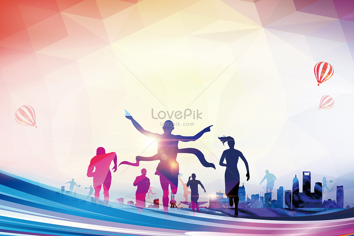 background of asian games creative image_picture free download
