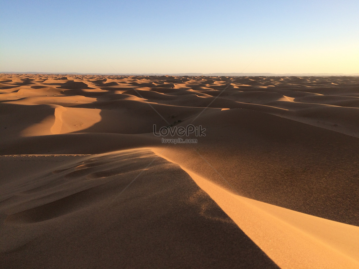 an endless mirror of the desert photo image picture free download