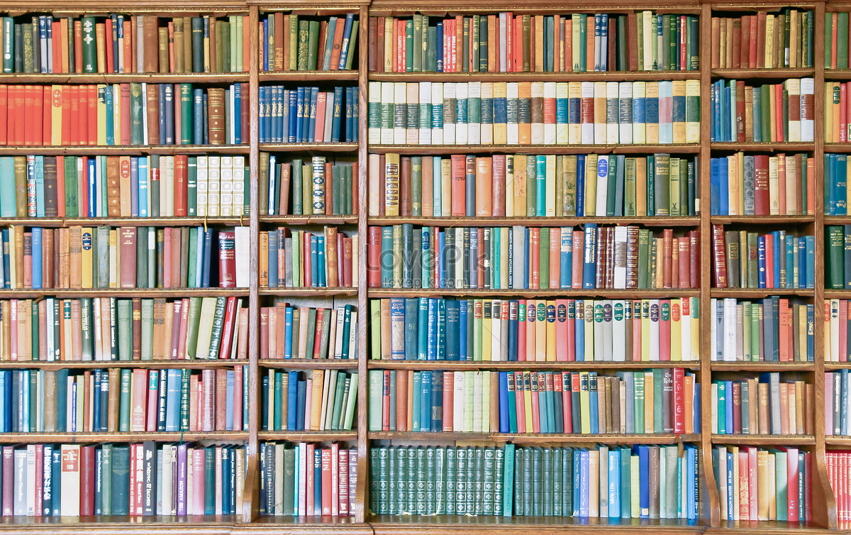 A Bookshelf Full Of Books