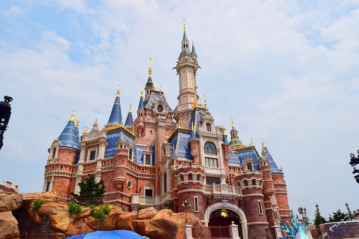 ปราสาท ดิสนีย์ เซี่ยงไฮ้ สวนสนุก เซี่ยงไฮ้