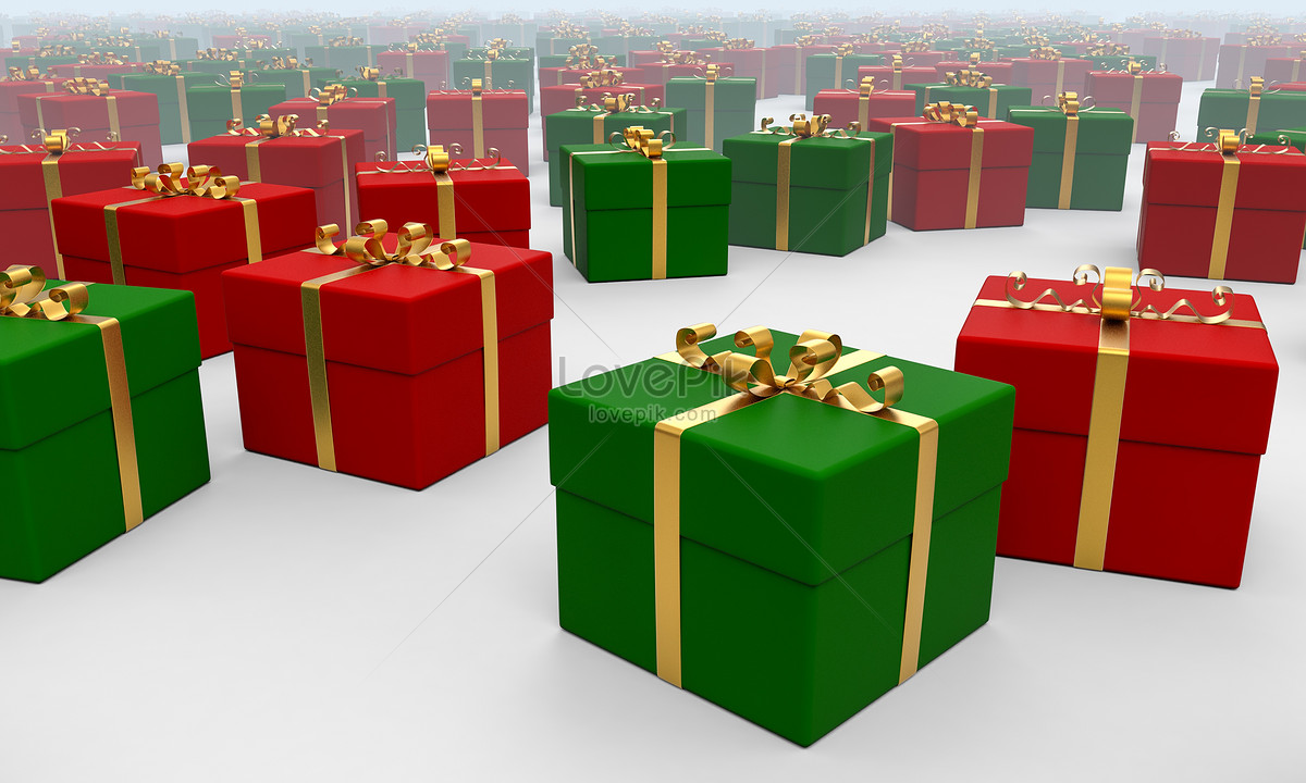 Christmas gift box photo image_picture free download ...