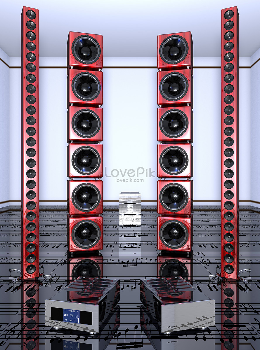 Horn loudspeaker photo image_picture free download