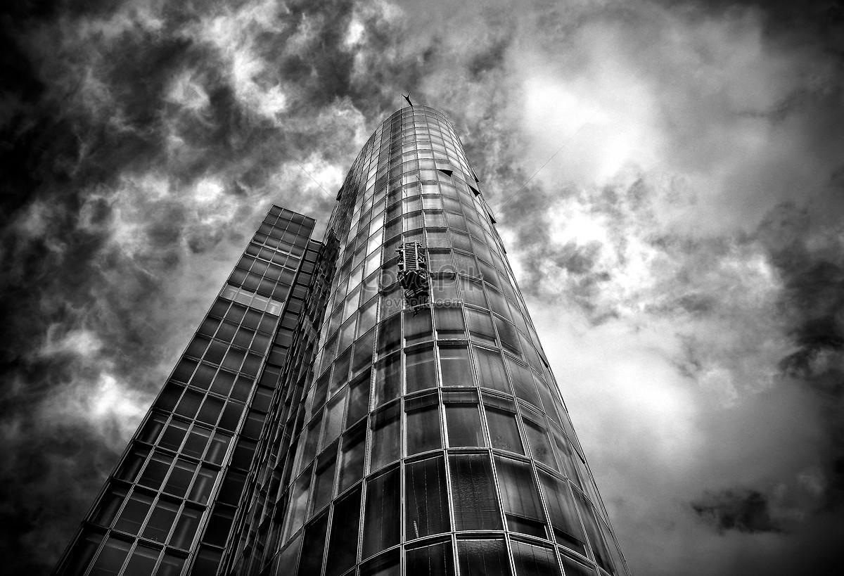 Fasad Kaca Gedung Pencakar Langit Gambar Unduh Gratis Foto