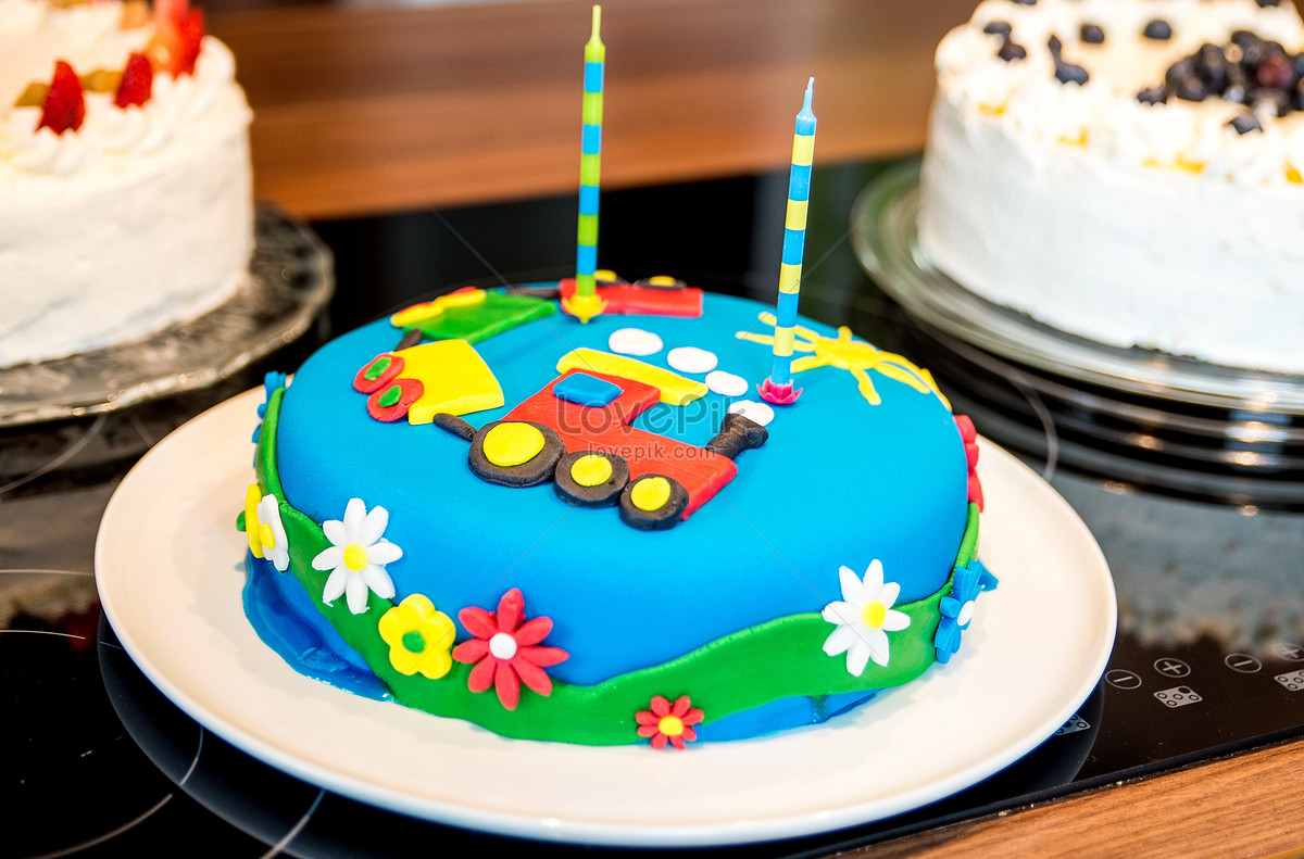 A Beautiful Birthday Cake