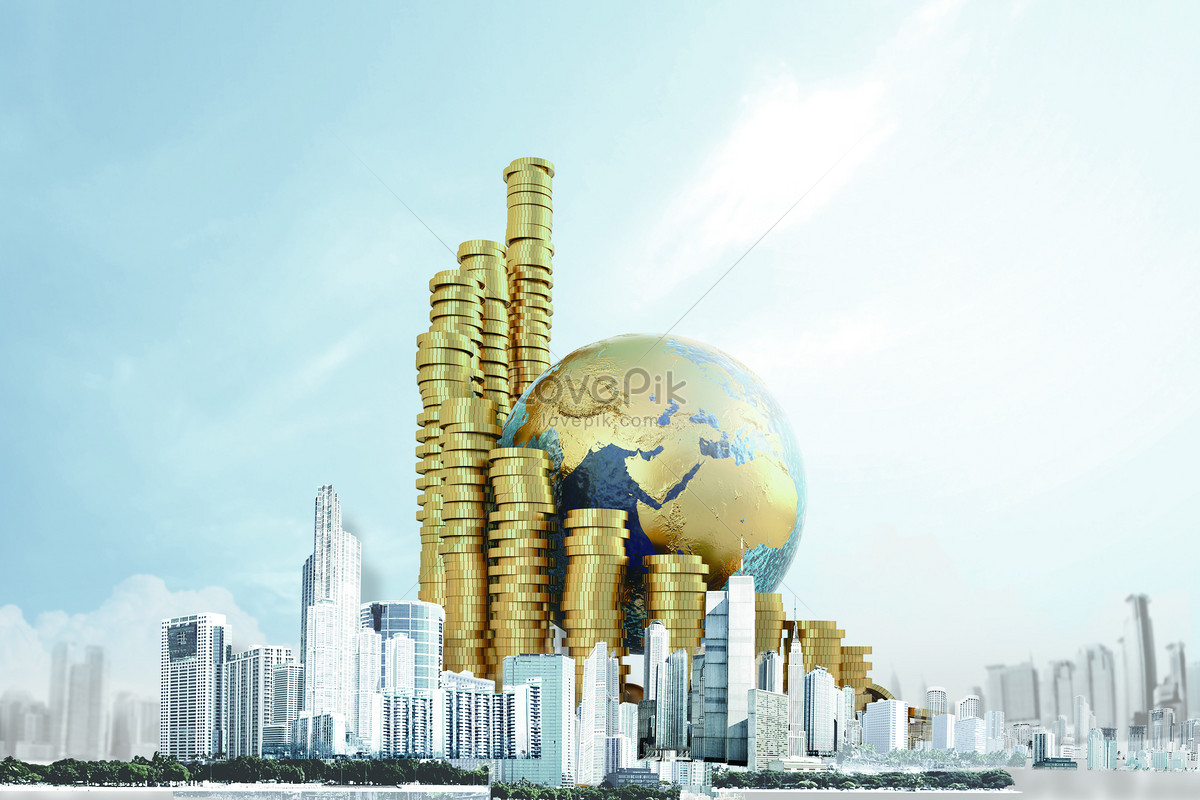 Investment In Real Estate Financial And Economic Wallpaper