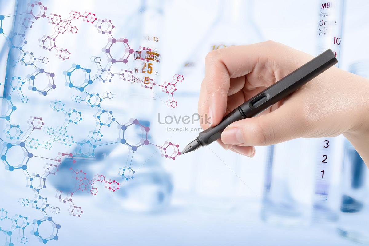 Handwritten Medical Symbols In Pen Creative Imagepicture Free
