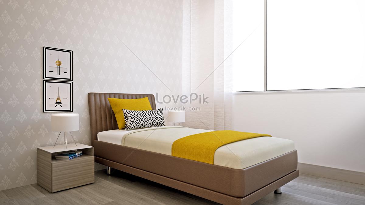 Photo de décoration de la chambre simple_Numéro de l ...
