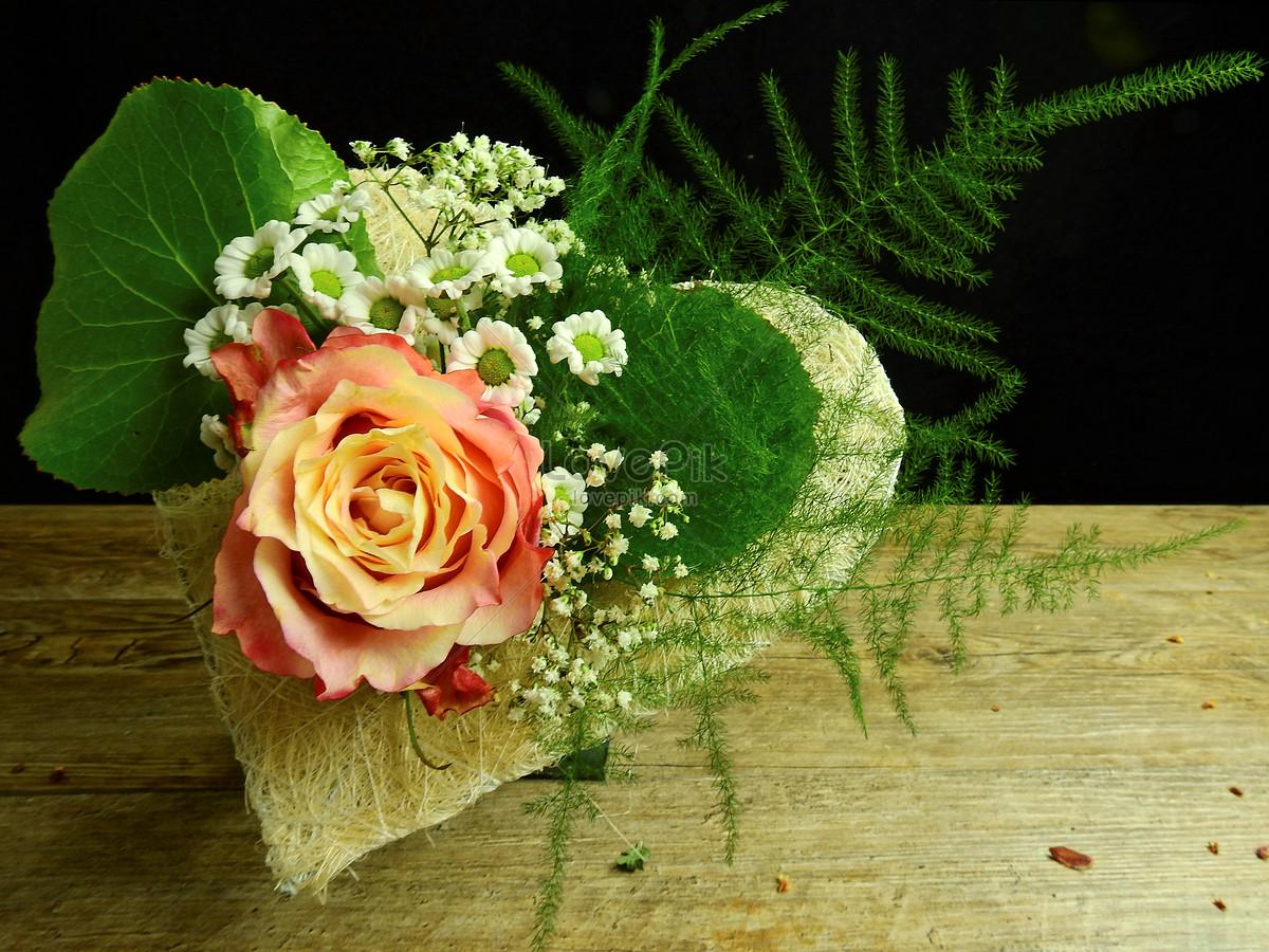Gardening Decoration Of Flower Bouquet Photo Imagepicture Free