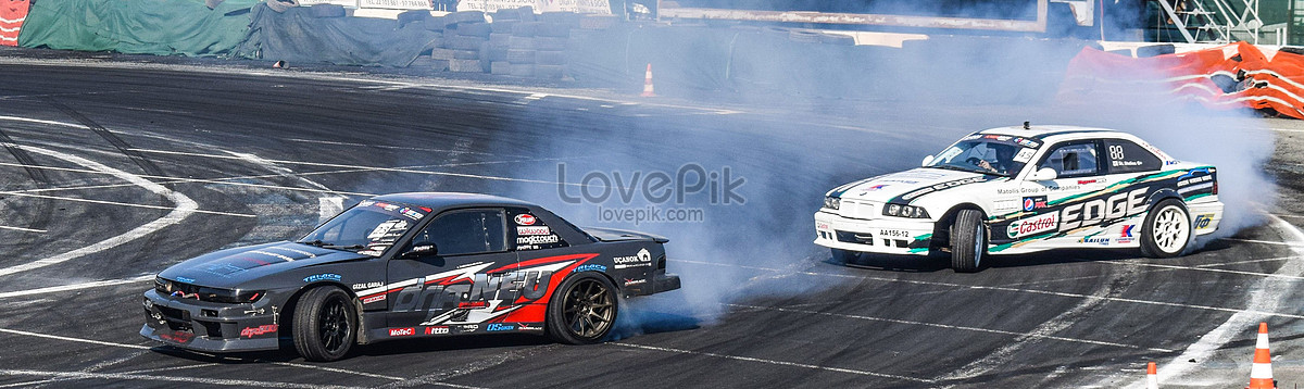 Car race drift photo image_picture free download