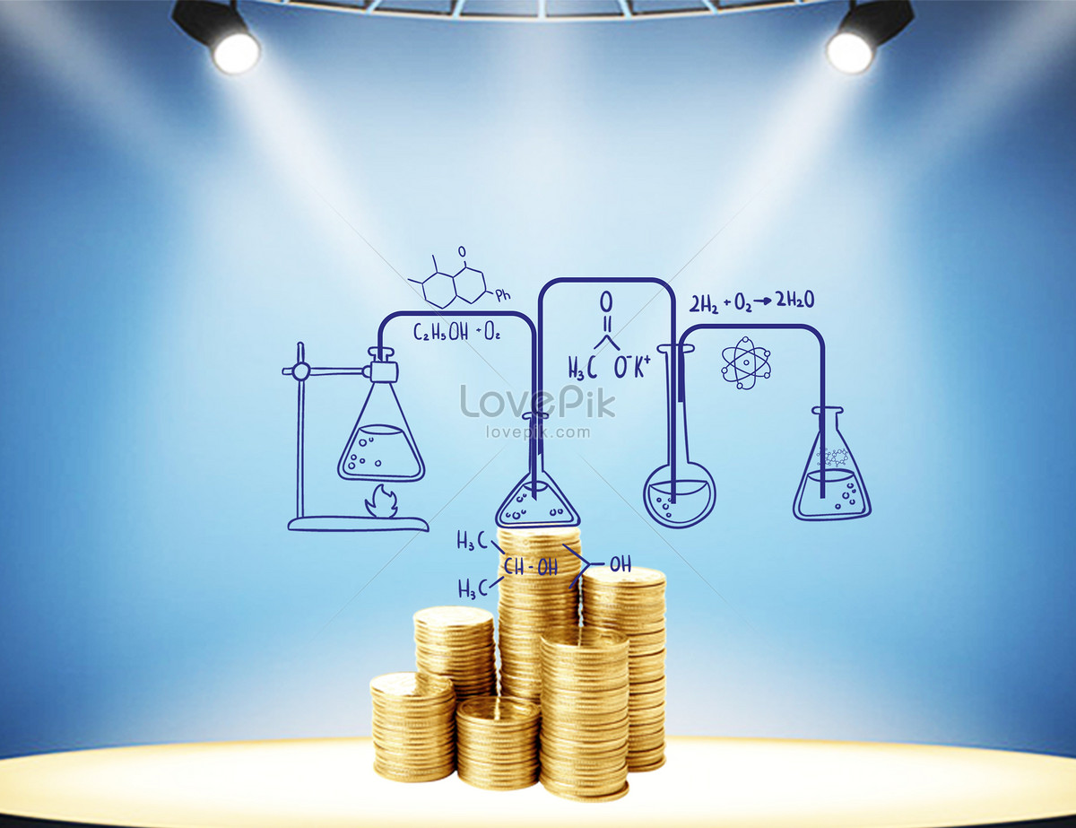 A fantastic financial reaction creative image_picture free download ...