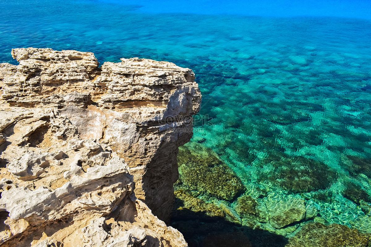 Bầu Trời Bầu Trời Bãi Biển Đá