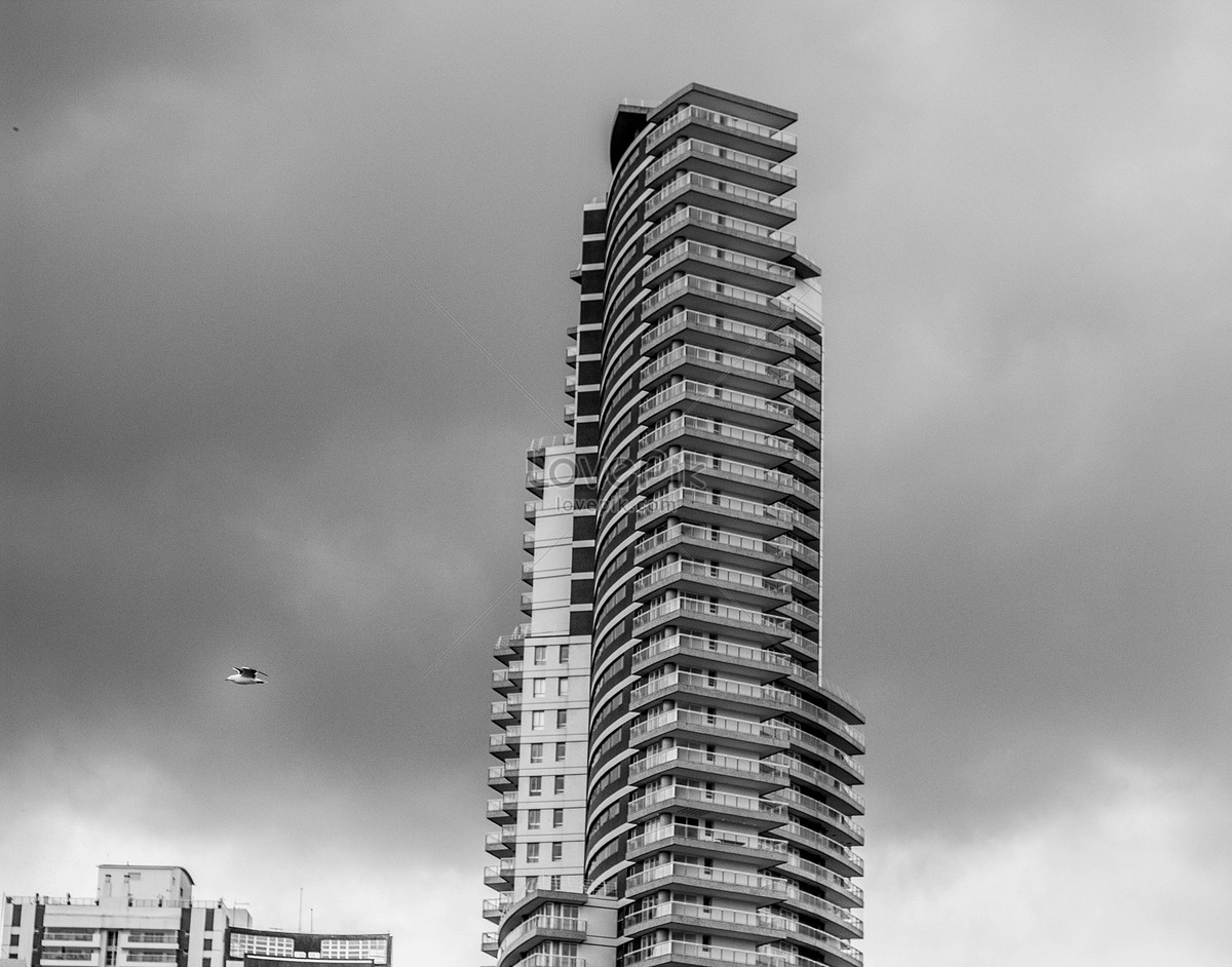 Arsitektur Gedung Pencakar Langit Kota Gambar Unduh Gratis Foto