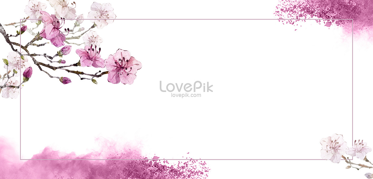 Purple Flower Background Of Tanabata Backgrounds Image Picture Free