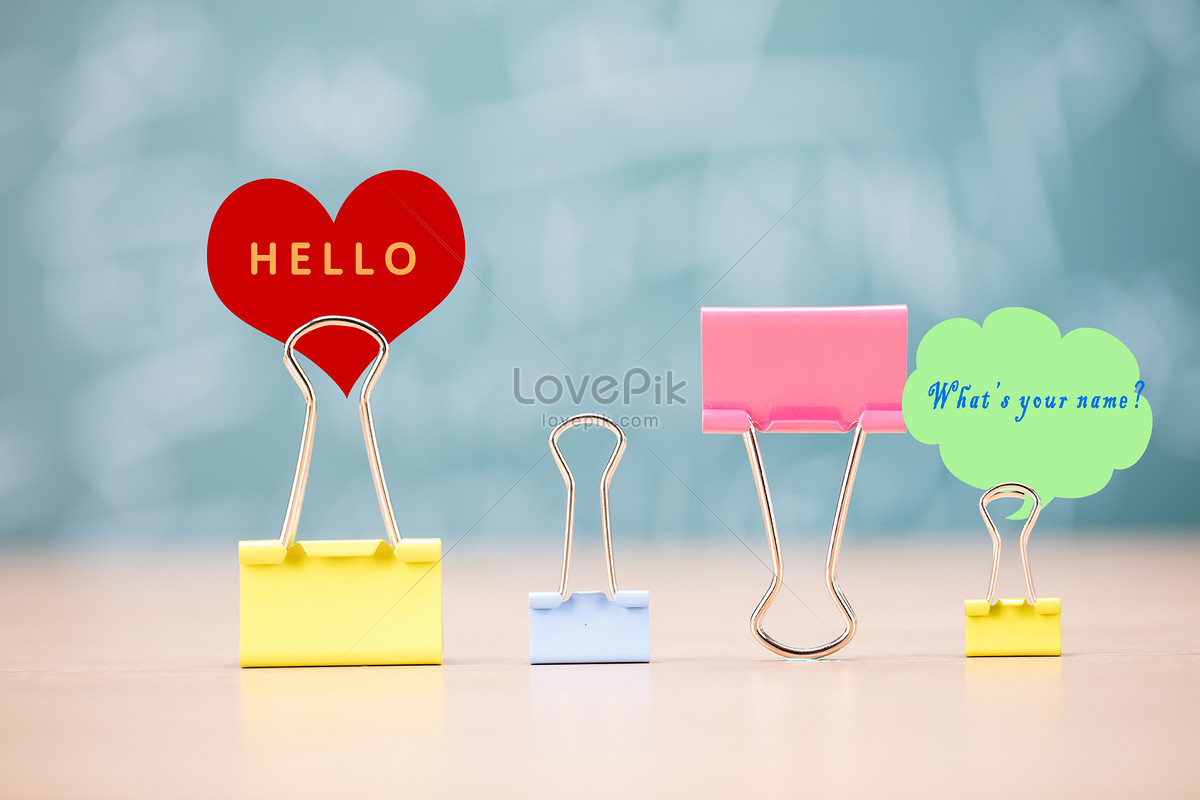 Greeting To Meet Small And Fresh Creative Imagepicture Free