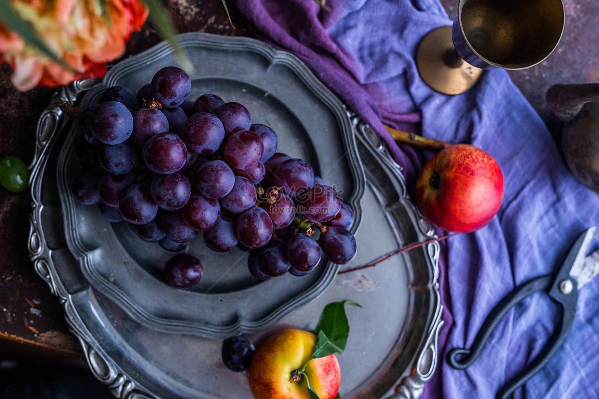 78+ Gambar Anggur Piring
