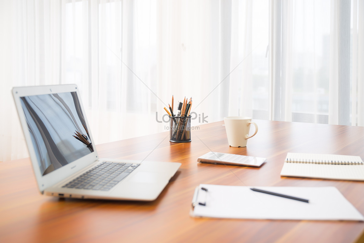 desk stationery computer photo image picture free download