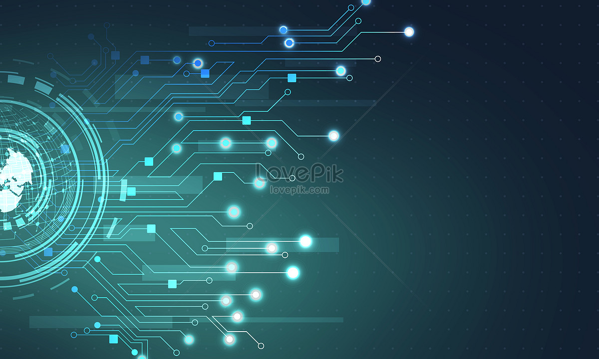 blue technology circuit background backgrounds image