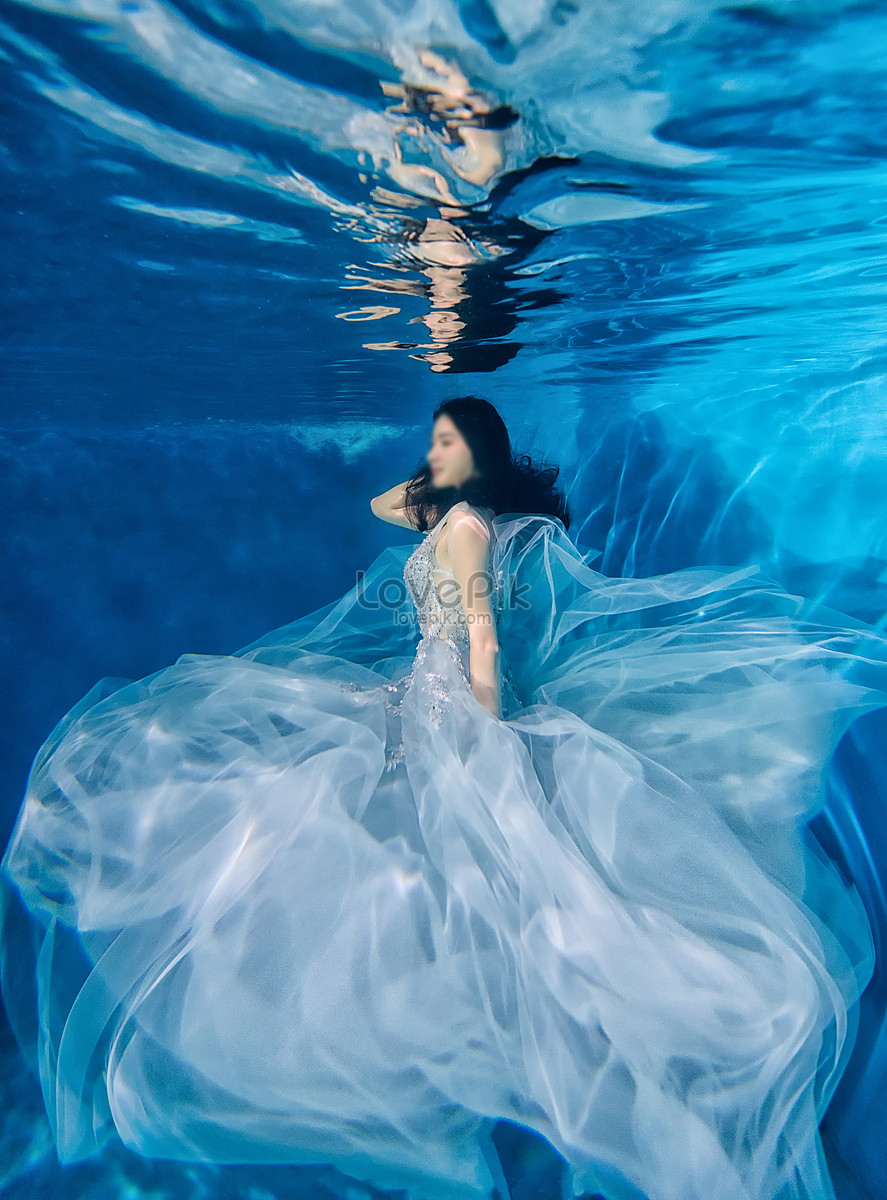 Photography Underwater people catalog photo