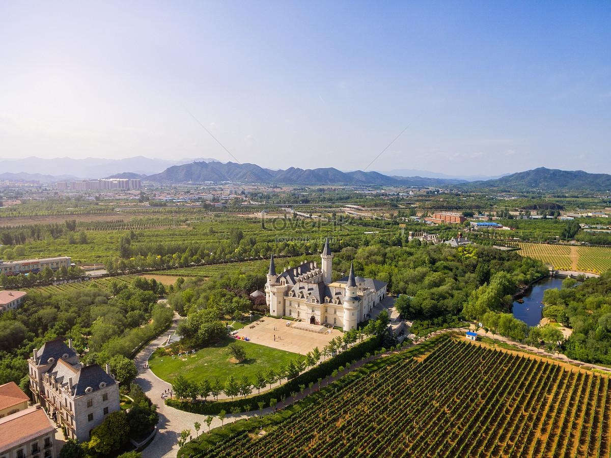phong cảnh châu Âu kiến trúc lâu đài