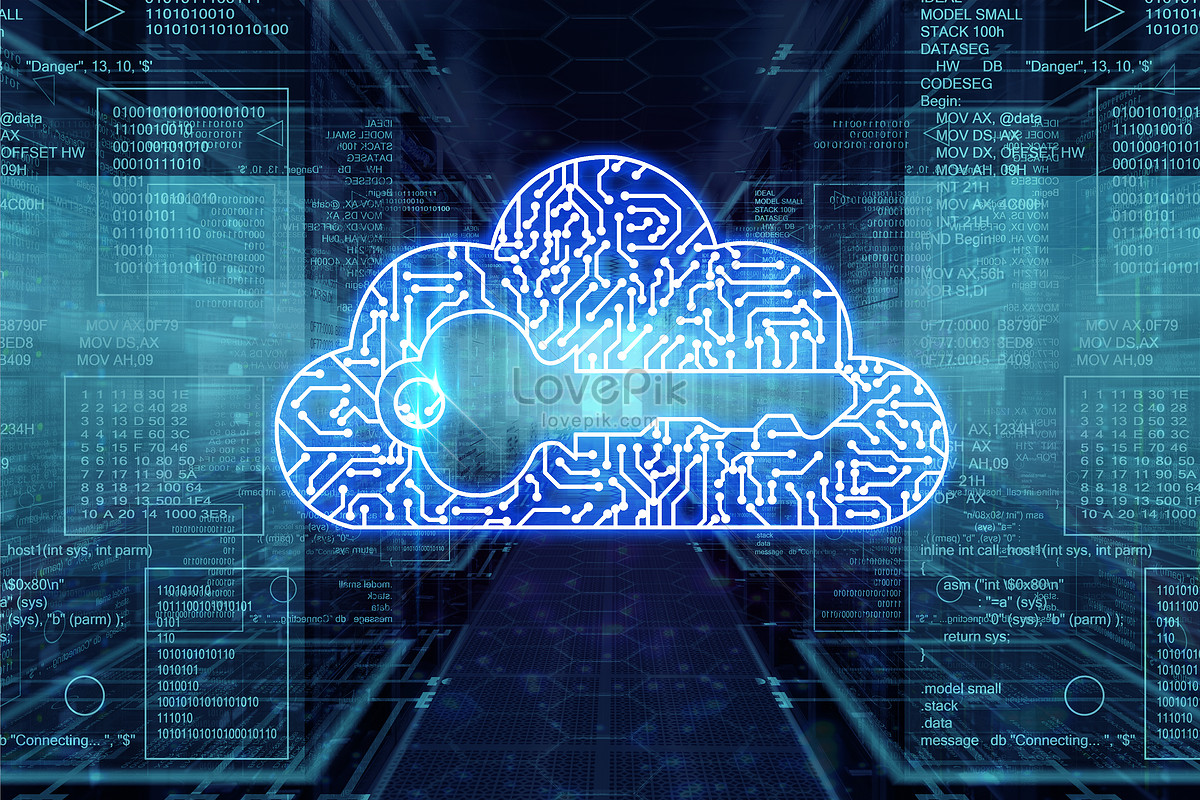 Cloud computing creative image_picture free download ...