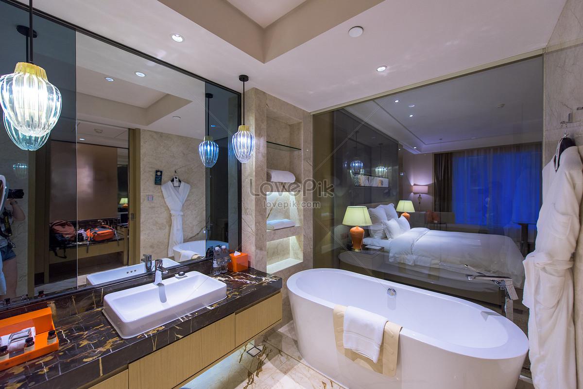 Photo de star hotel luxe salle de bain toilette_Numéro de l ...