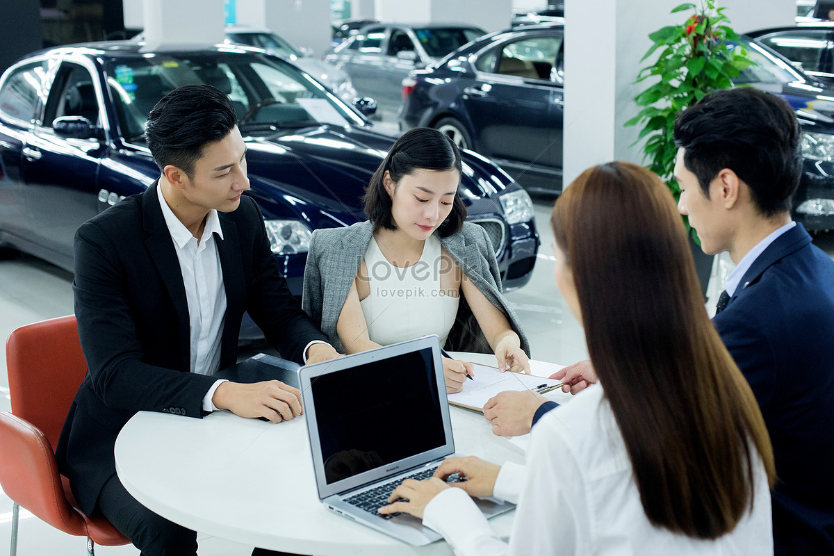 auto sales contract signing contract photo image picture free
