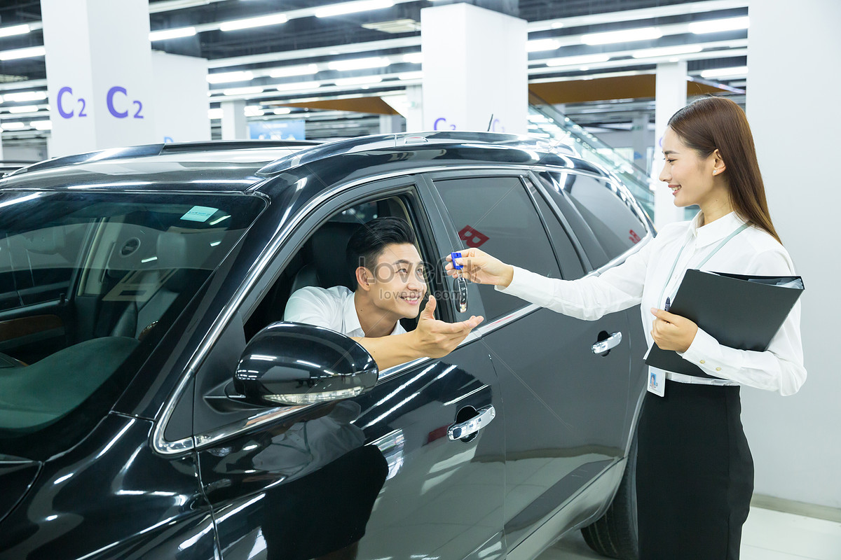 Car Dealers Buy Cars And Hand In Car Keys Photo Image Picture Free