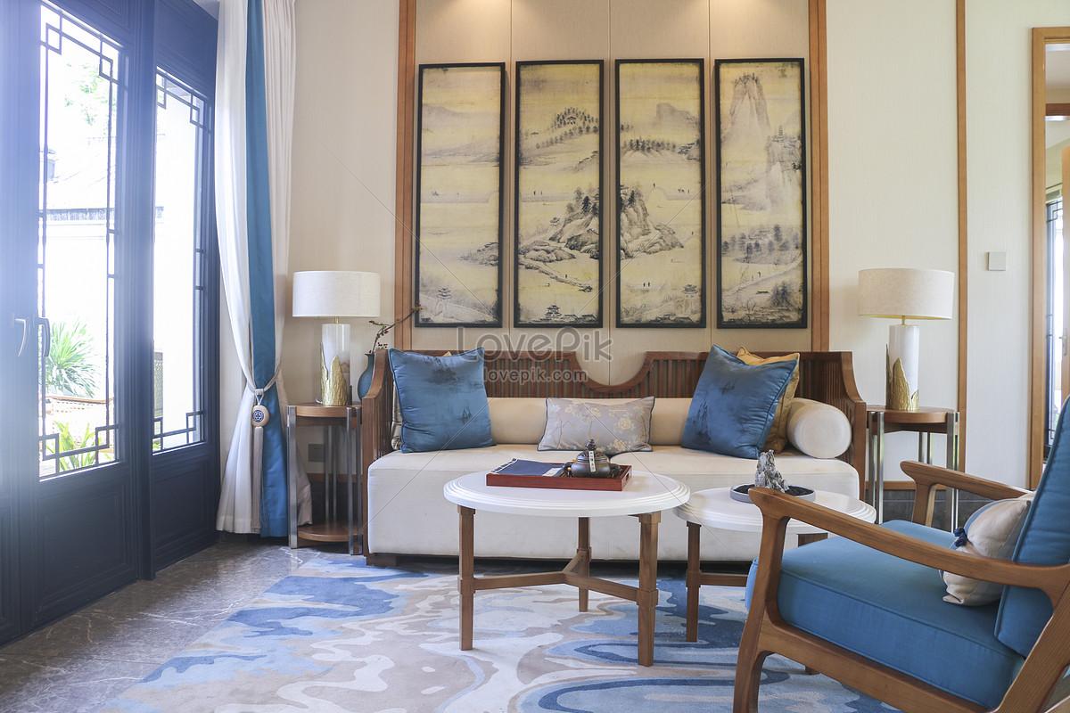 Photo de salon de style chinois_Numéro de l\'image500734494_Format d ...