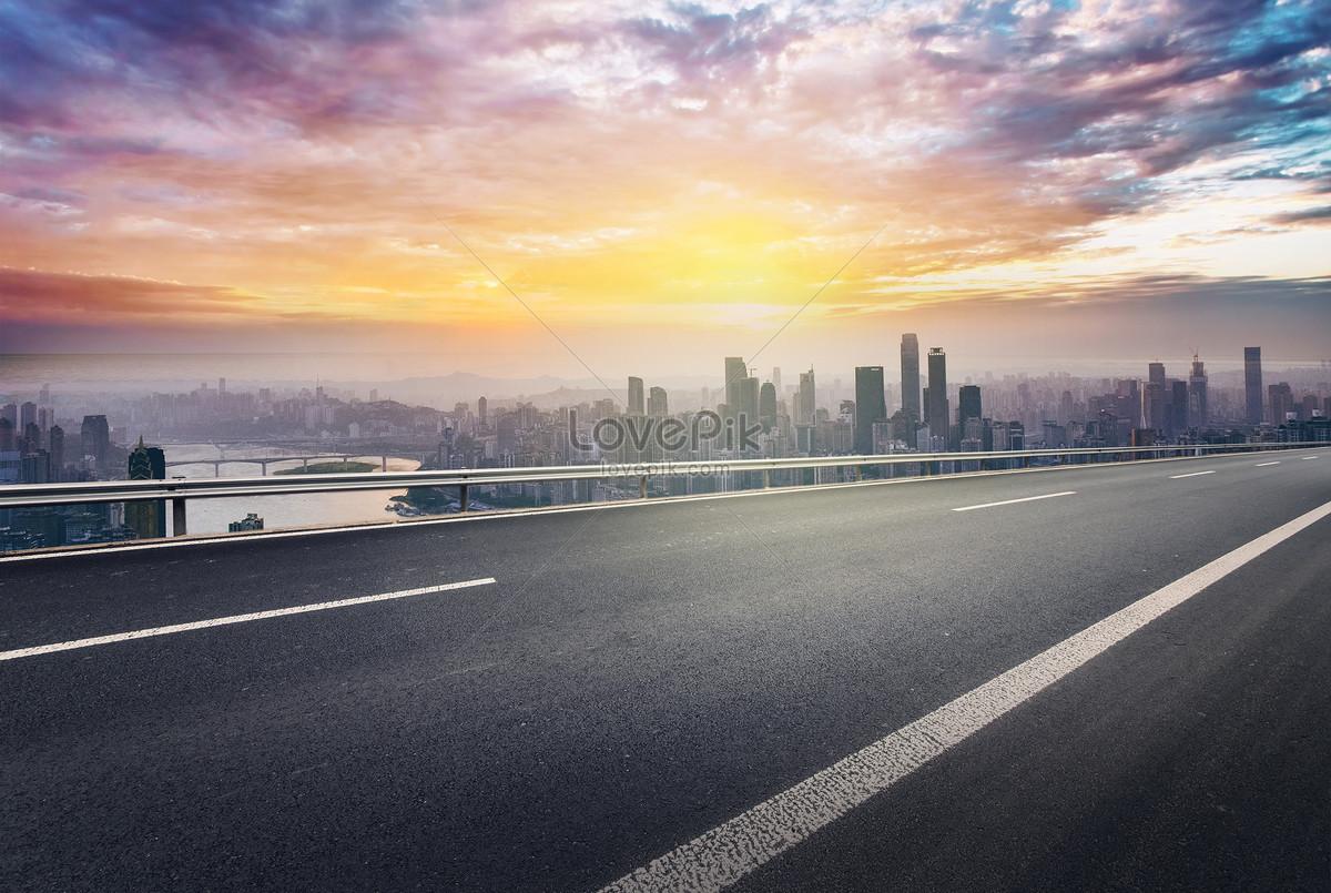 şehir Karayolu Yere Arka Plan Resimyaratıcı Numarası 500738259tr