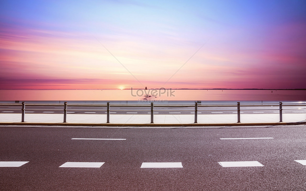 ground background of urban building road creative image picture free