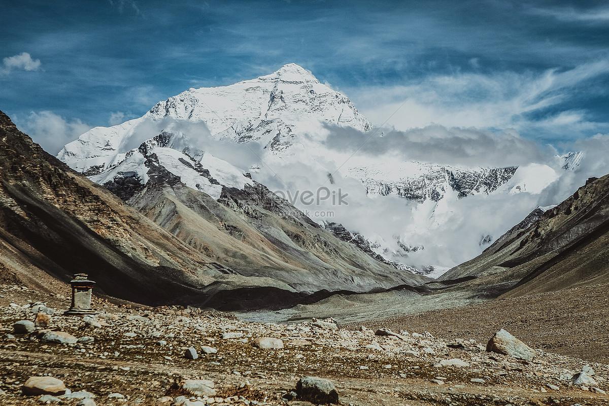 Gunung Everest Gambar Unduh Gratisimej 500758318format Jpgmy