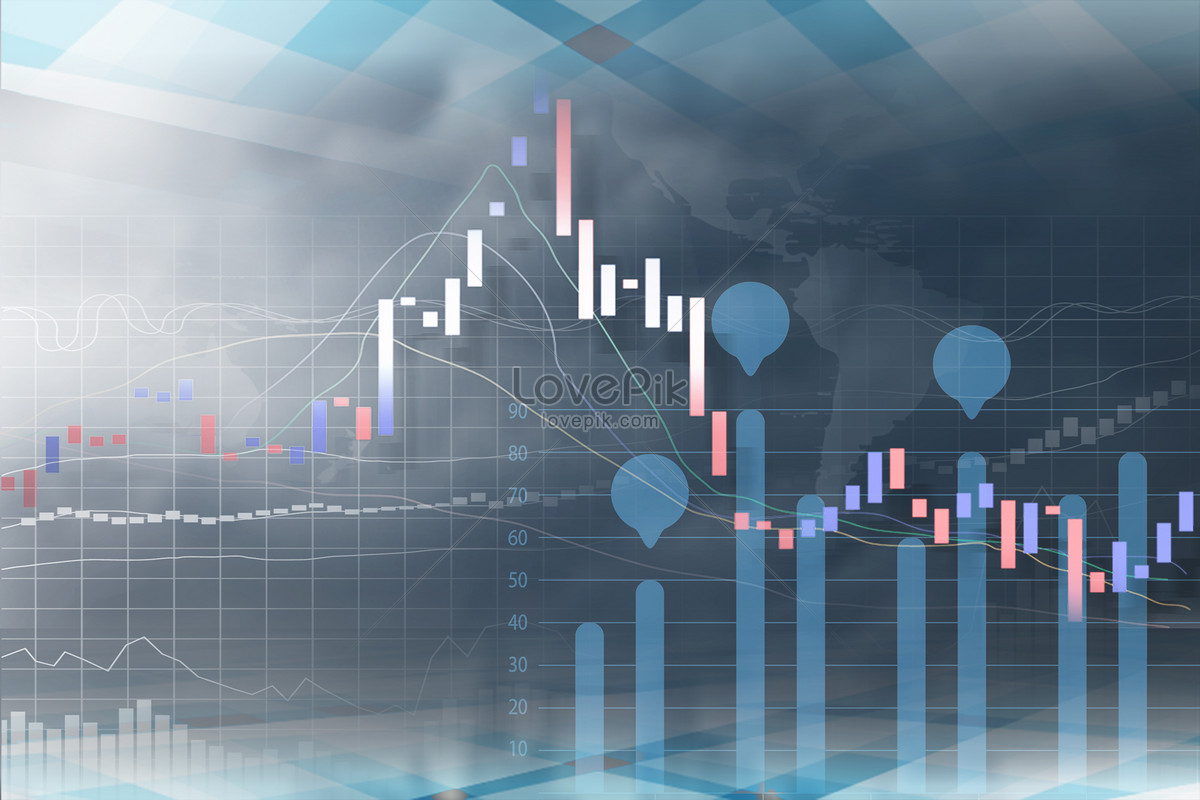 Abstract stock market curve background backgrounds image_picture ...