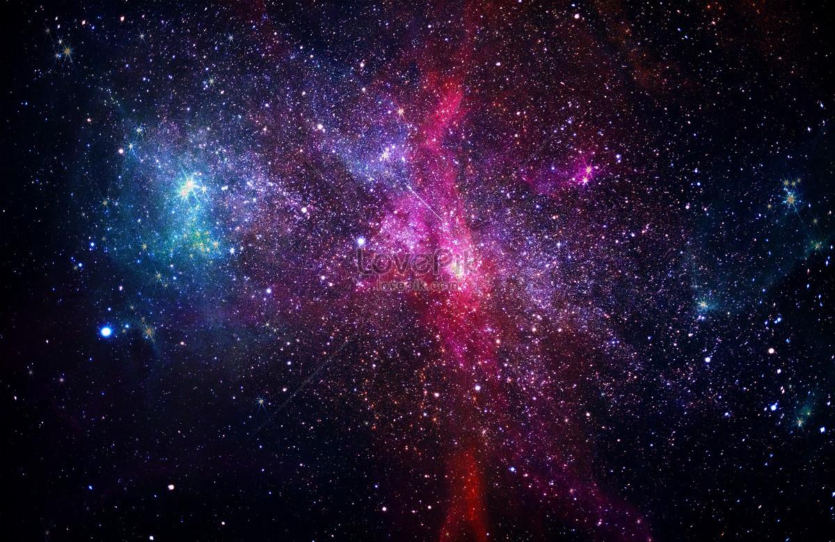 星空银河背景