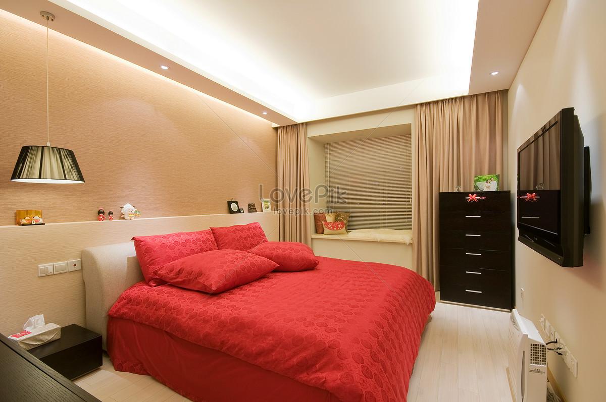 Photo de chambre modèle de style minimaliste moderne_Numéro ...